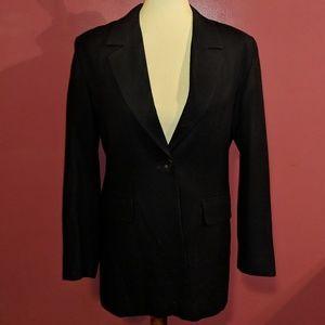 Pendleton Navy Blue Wool Blazer Size 6